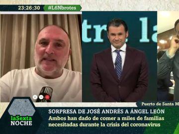 Ángel León y José Andrés enlaSexta Noche