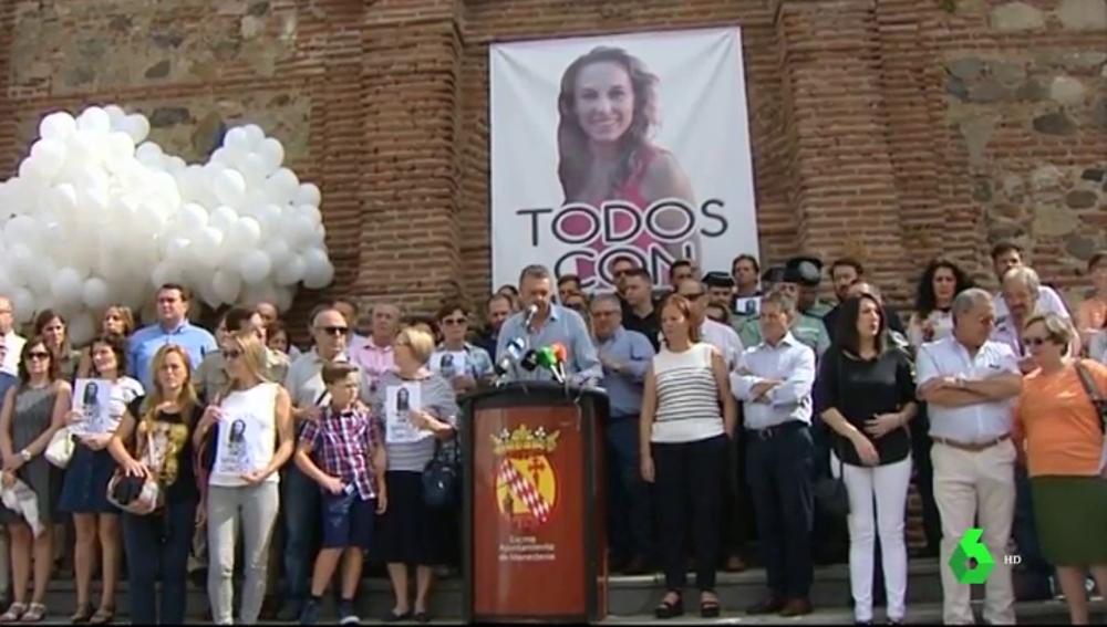 Imagen de un homenaje a Manuela Chavero en Badajoz