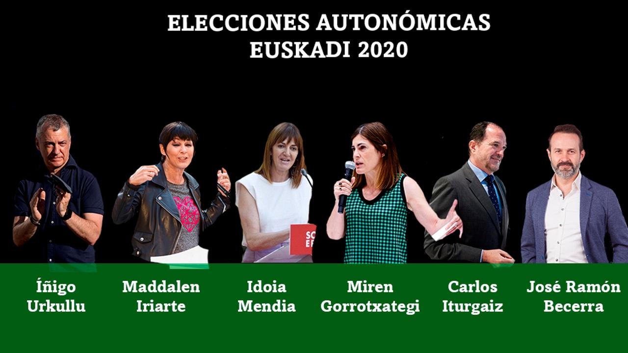 Urkullu, Iriarte, Mendia, Gorrotxategi, Iturgaiz y Becerra