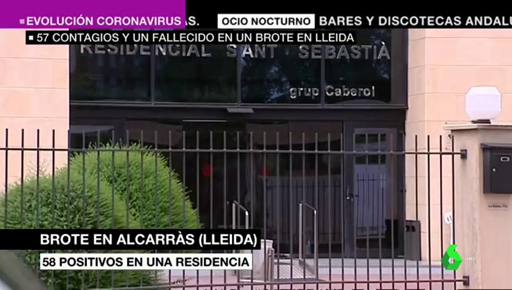 Residencia en la que se ha producido un brote en Alcarràs