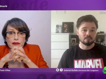 Thais Villas entrevista a Rufián
