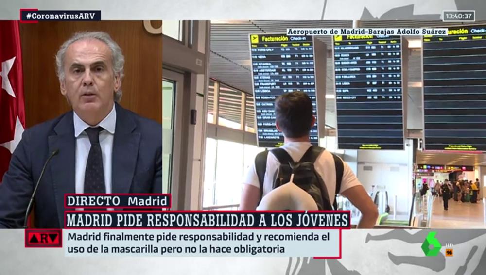 La Comunidad de Madrid pide PCR y un certificado negativo 48 horas antes de viajar a España