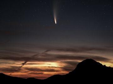 Hoy es el mejor día para ver el cometa NEOWISE: dónde y en qué horario verlo