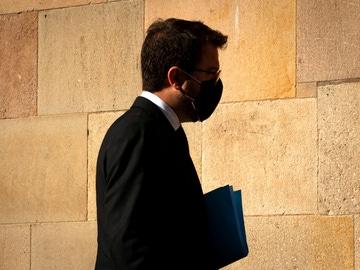 Pere Aragonés, candidato de ERC a gobernar en Cataluña