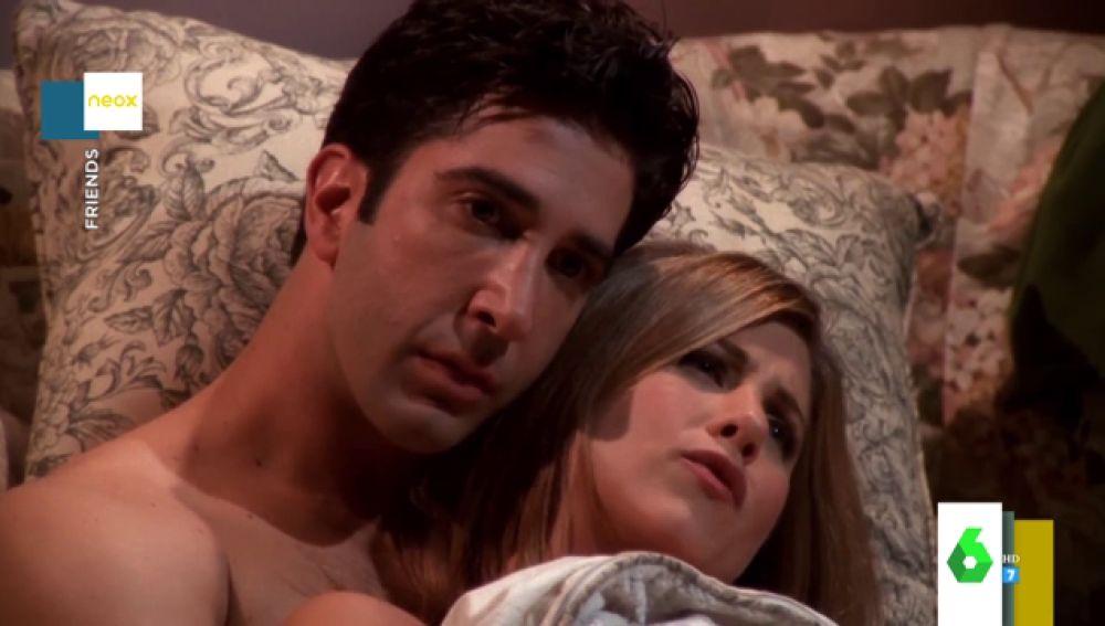 La ruptura de Rachel y Ross en 'Friends'
