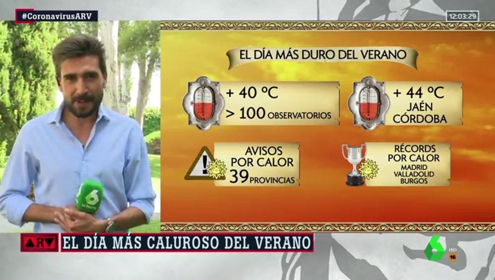 España se enfrenta al día más caluroso del verano: hay avisos por altas temperaturas en 39 provincias