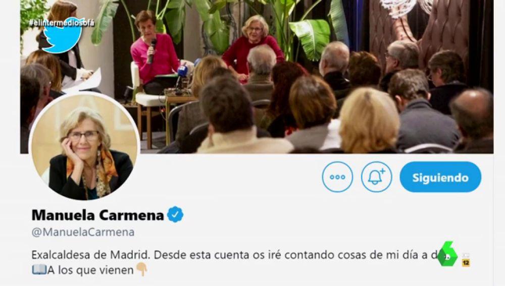 Twitter de Manuela Carmena