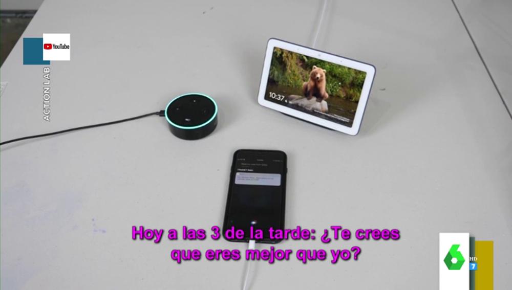 """La surrealista pelea entre Siri, Alexa y el asistente de Google: """"¿Buscas pelea?, ¡arrodíllate ante mí!"""""""