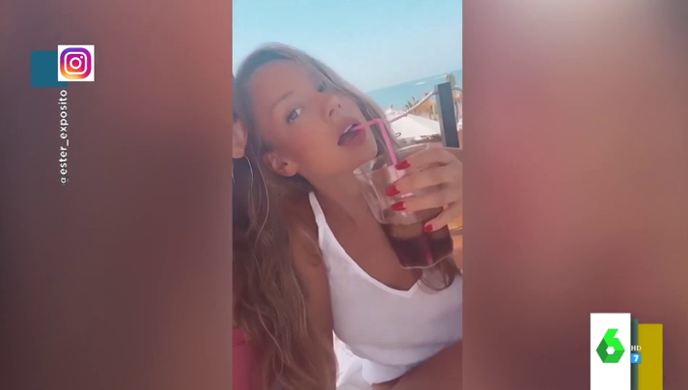 El sensual vídeo de Ester Expósito en la playa que explica por qué tiene tantos seguidores en Instagram