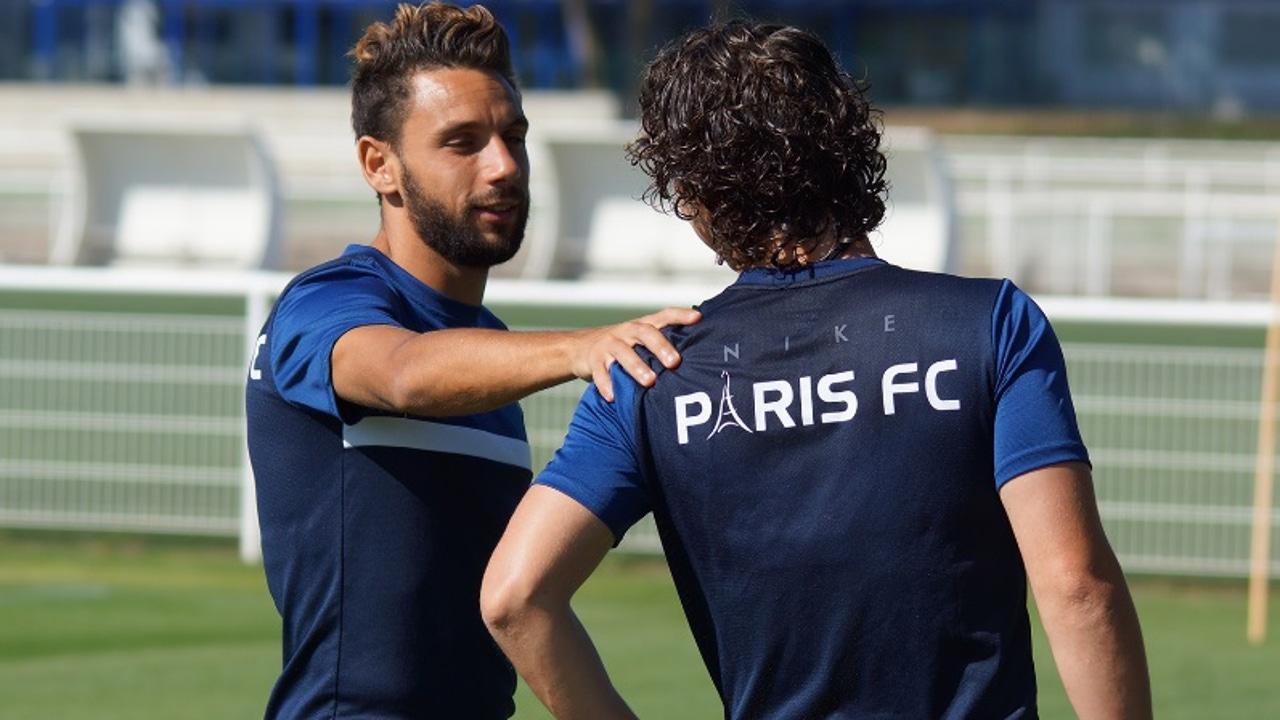 Jugadores del Paris FC