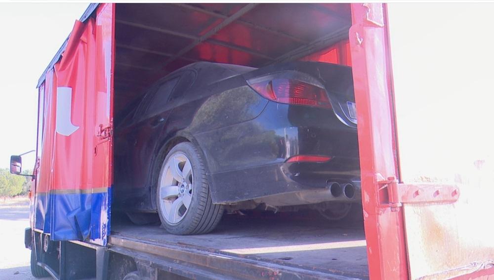 Hallan escondido en un camión de cerveza el coche del atropello mortal de El Álamo