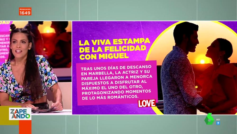 Lorena Castell habla sobre Paula Echevarría y Miguel Torres