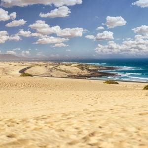 Uno de los diez lugares más bonitos para aparcar tu autocaravana este verano es la zona de Játiva, en Fuerteventura
