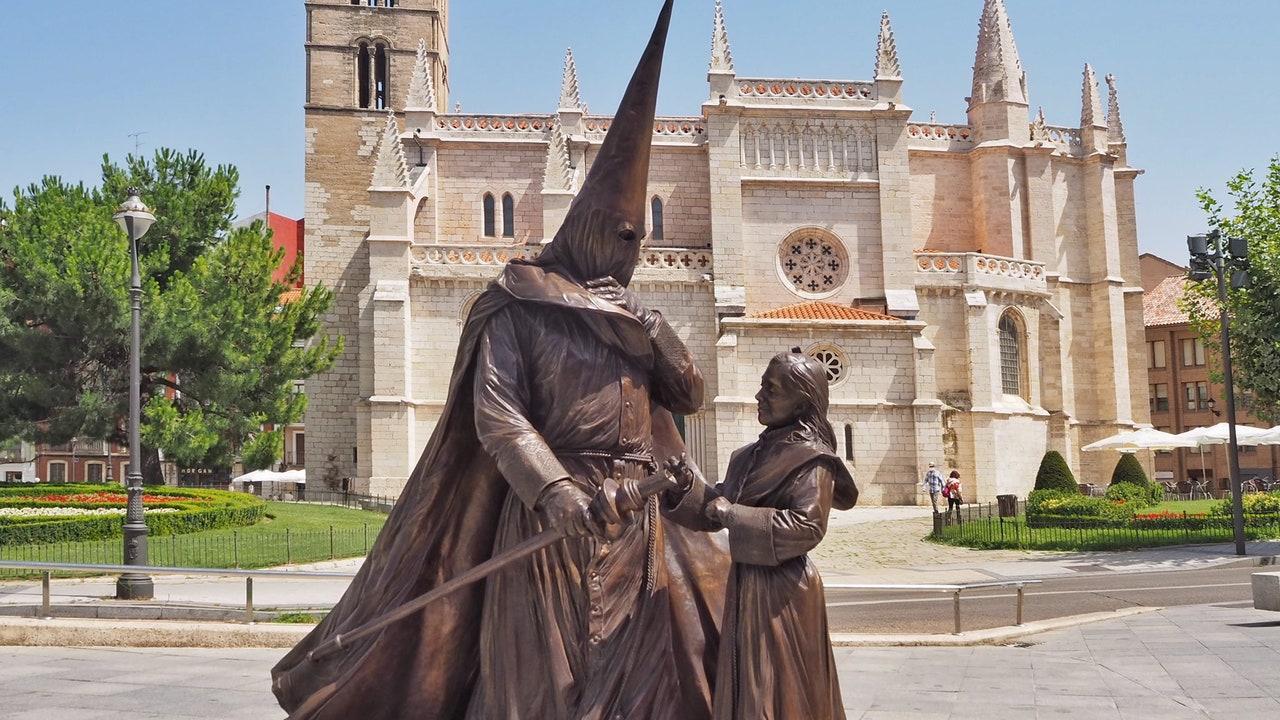Monumento dedicado a la Semana Santa en Valladolid