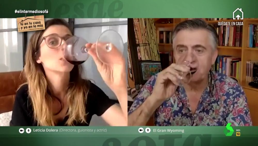 Leticia Dolera y Wyoming, confesiones de alto voltaje en la pandemia: ¿han tenido sexo?, ¿usan el succionador?