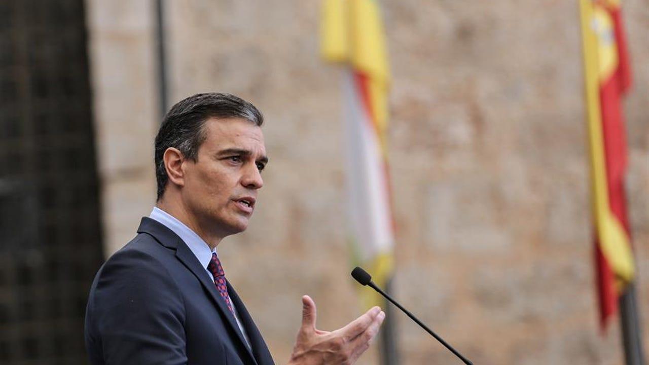 Pedro Sánchez en la Conferencia de Presidentes