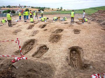 Excavación arqueológica en el municipio riojano de Grañón