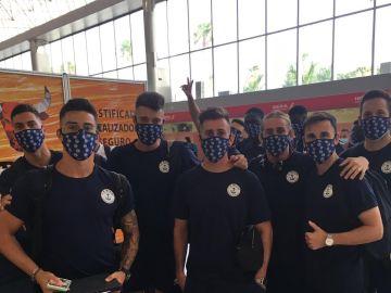 Integrantes de la expedición del CD Marino