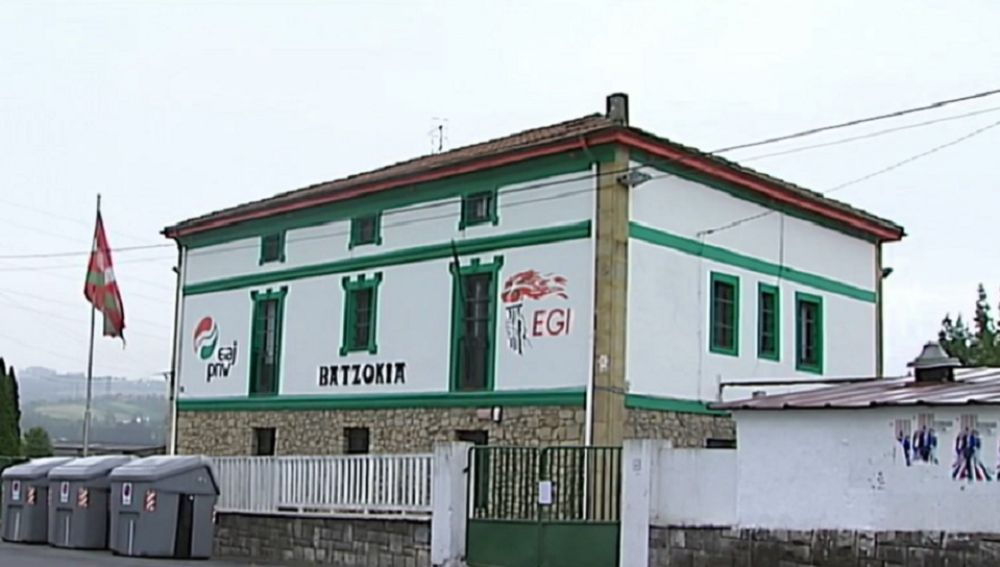 Imagen de la sede del PNV en Erandio