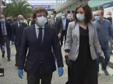 """Vídeo manipulado - Las 'calabazas' de Ayuso a Almeida: """"Tú también me gustas mucho, pero no de esa manera"""""""