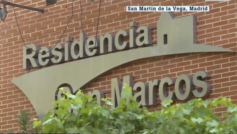 Residencia de San Martín de la Vega, en Madrid, donde se ha localizado el nuevo brote
