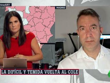 El médico César Carballo explica las dos claves para frenar la expansión del coronavirus en España