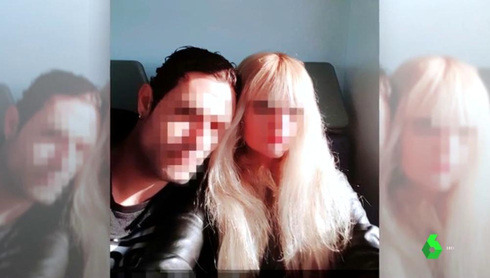 Imagen de la hija y el yerno de la mujer descuartizada en Chapinería