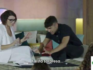 El Mago Pop y Silvia Abril