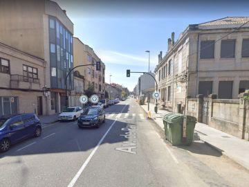 Vista de la avenida de Ramón Nieto, en Vigo