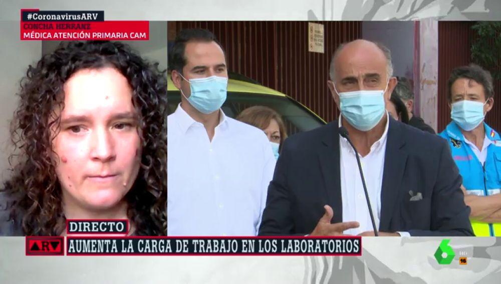 Concha Herranz, médica de Atención Primaria de la Comunidad de Madrid,