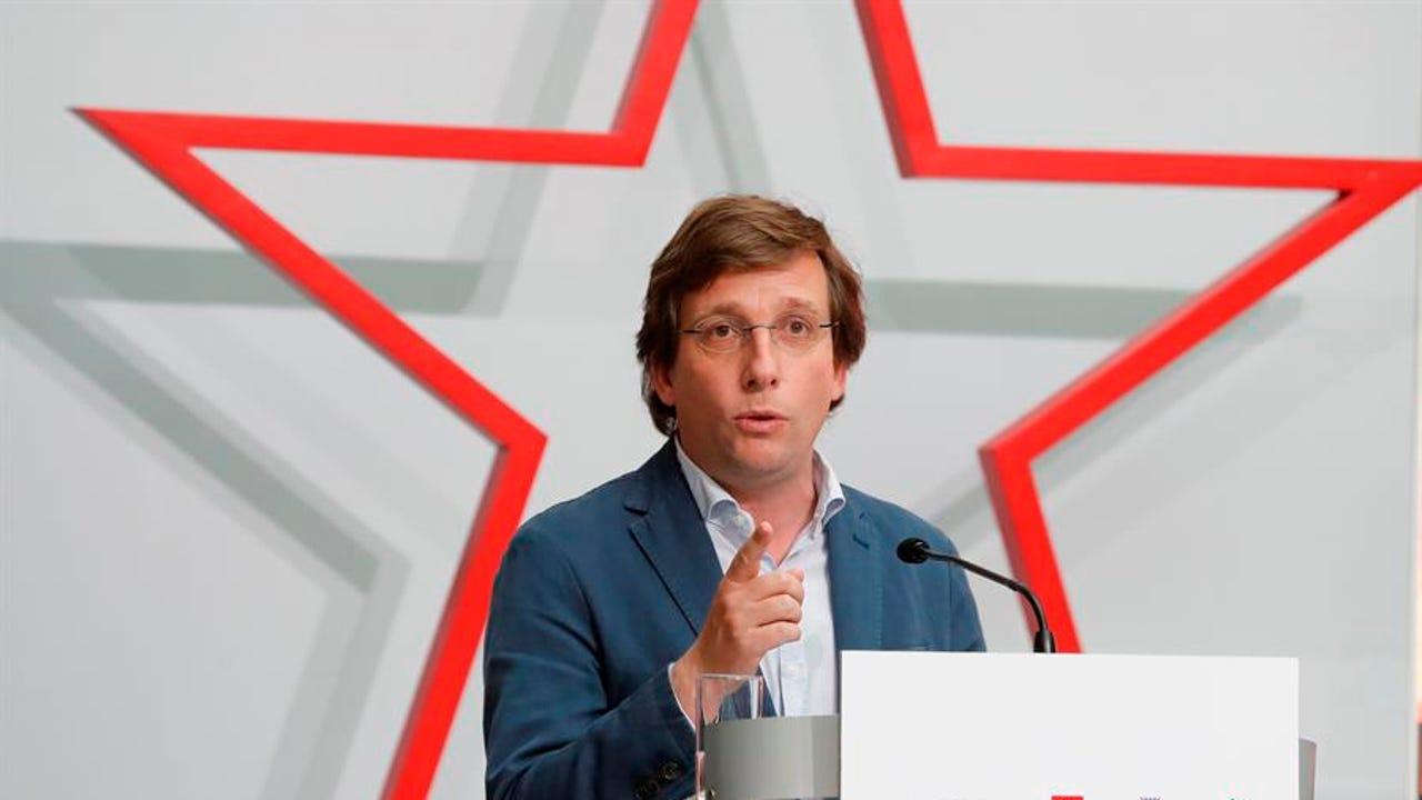Imagen de archivo del alcalde de Madrid, José Luis Martínez-Almeida.