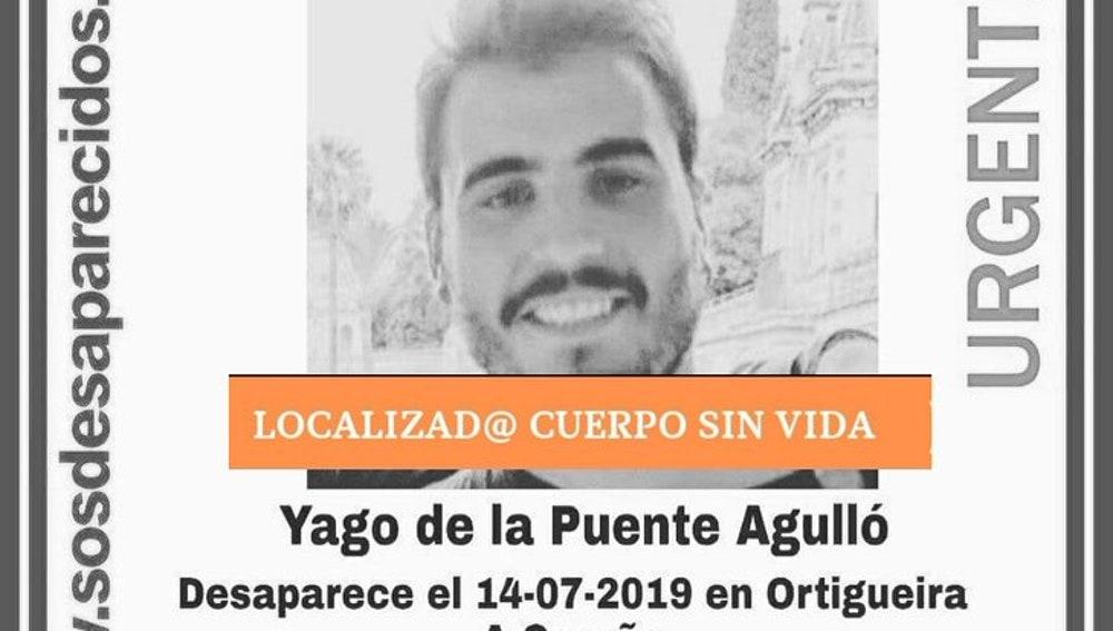 Localizan el cuerpo sin vida de un joven desaparecido en 2019