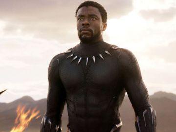 Chadwick Boseman en 'Black Panther'.
