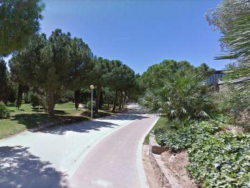 Jardines del antiguo cauce del Turia en Valencia