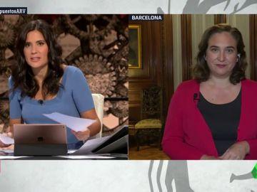 """Ada Colau: """"Las fuerzas de Gobierno tienen que consensuar los presupuestos y a partir de ahí, hablar con otros partidos"""""""