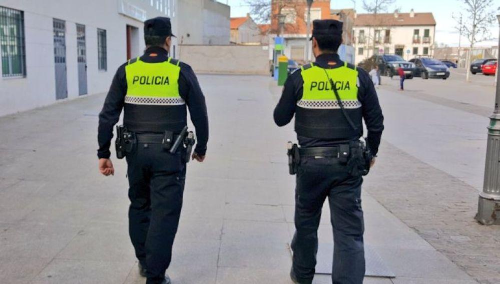 Policías de San Martín de la Vega