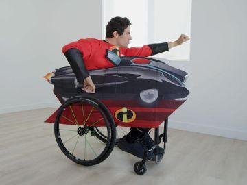 Disney lanza disfraces para personas en silla de ruedas