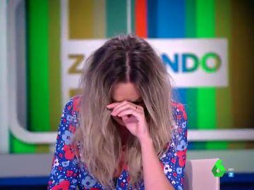 Anna Simon regresa a Zapeando con un comentado look surfero