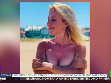 El espectacular topless censurado de Cayetana Guillén Cuervo