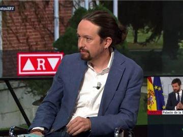 Pablo Iglesias, en Al Rojo Vivo