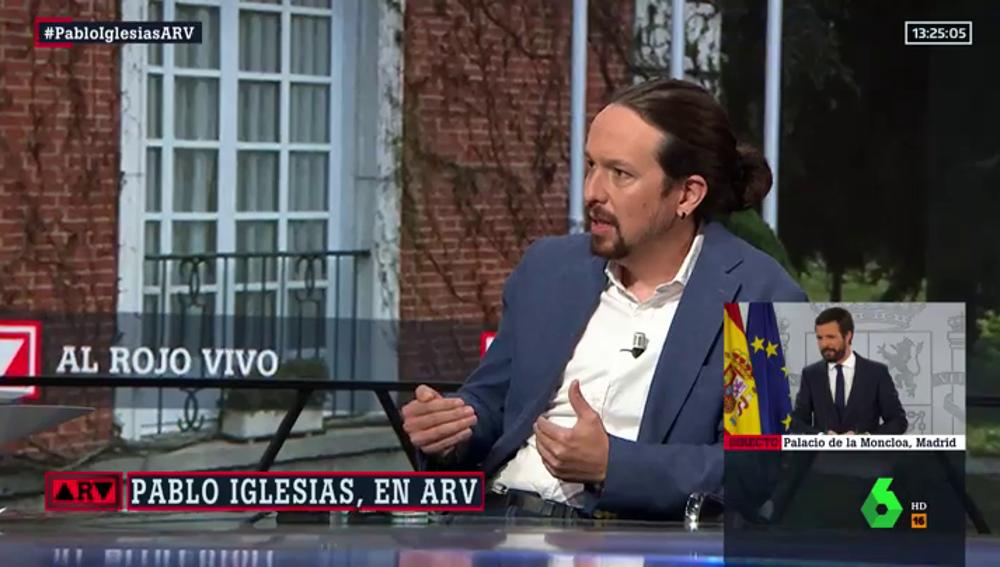 """Iglesias presentará con Sánchez el proyecto de presupuestos: """"Será un borrador de la coalición"""""""