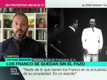 """Antonio Maestre: """"Nada de lo que tienen los Franco era de su propiedad. Todo es fruto del expolio, el robo y la corrupción"""""""