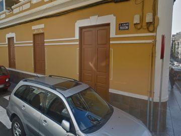La calle en la que se de dio la agresión, en las Palmas de Gran Canaria