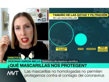 La química Déborah García Bello