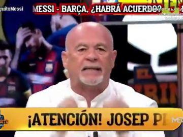 Alfredo Duro explota comparando la salida de Messi y la de Cristiano: ¡Que se vayan a la Conchinchina!