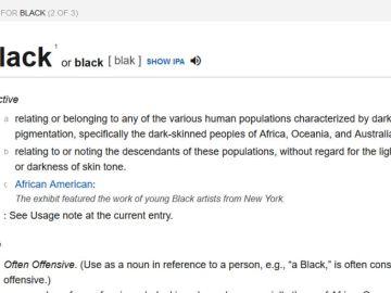 El mayor diccionario online se adapta para eliminar prejuicios raciales y sexuales