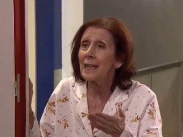 La actriz Mariví Bilbao en el papel de Izaskun, en 'La que se avecina'