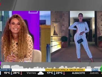 Angie Cárdenas deslumbra en Aruser@s luciendo 'a lo Georgina Rodríguez' el estampado del momento