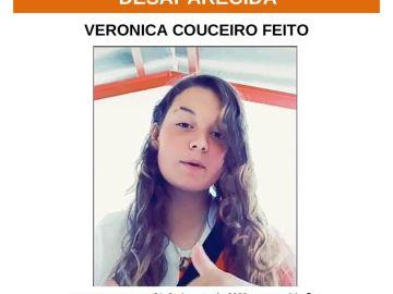 Verónica Couceiro Feito, desaparecida el 31 de agosto en A Coruña