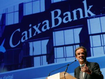 El presidente de CaixaBank, Jordi Gual